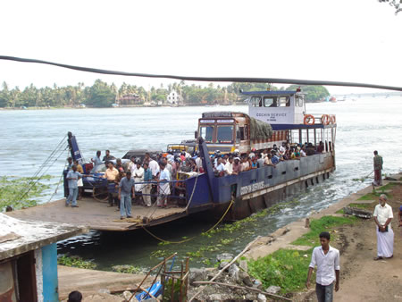 ferry de Fort Cochin